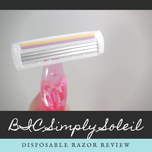 BIC Simply Soleil Women's Disposable Razor Review